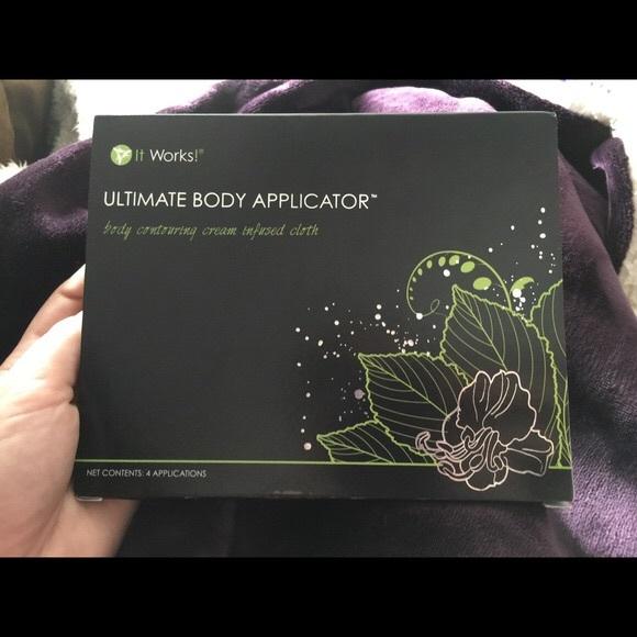 It works ultimate body wraps NWT